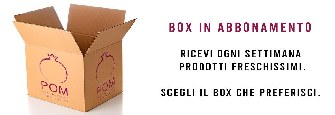 Box in Abbonamento, prodotti freschissimi!