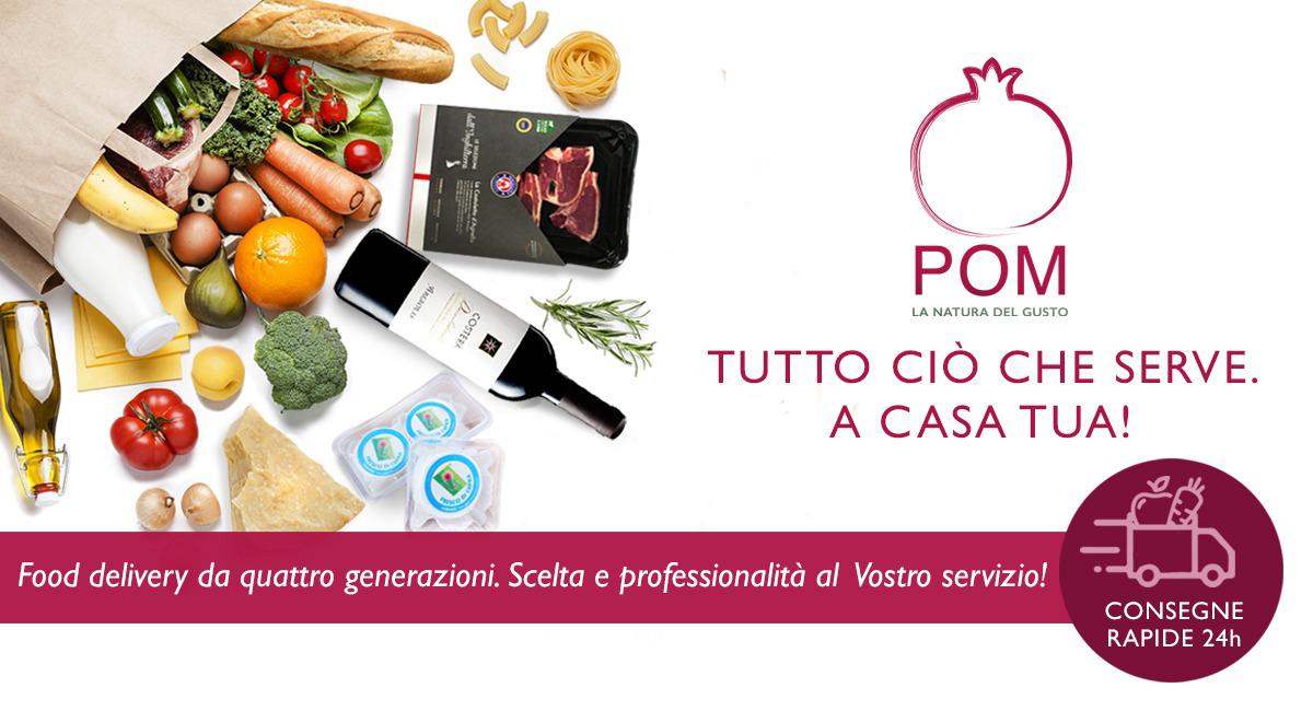Food Delivery da quattro generazioni. Scelta e professionalità al Vostro servizio!