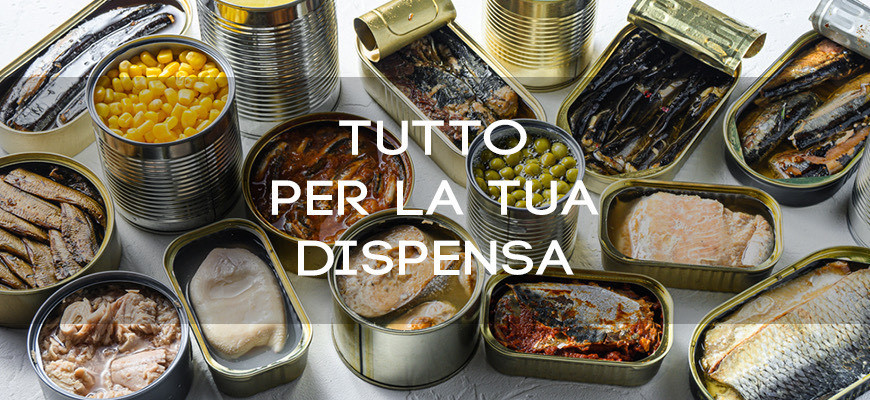 Tutto per la tua dispensa